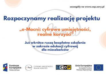 """Rusza projekt """"e-Mocni: cyfrowe umiejętności - realne korzyści"""""""