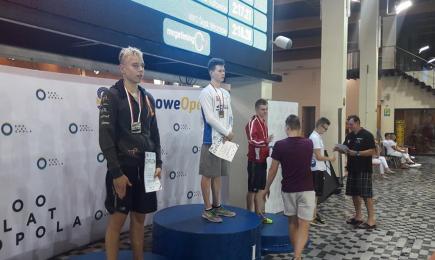 Szarża po medale podczas pływackich Mistrzostw Polski Juniorów
