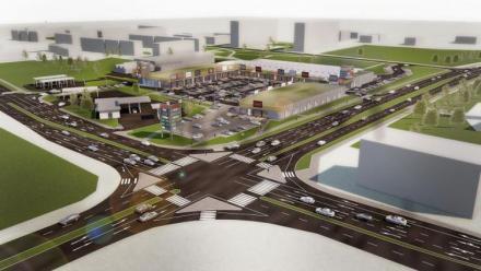 Park handlowy w Żorach zostanie wkrótce rozbudowany