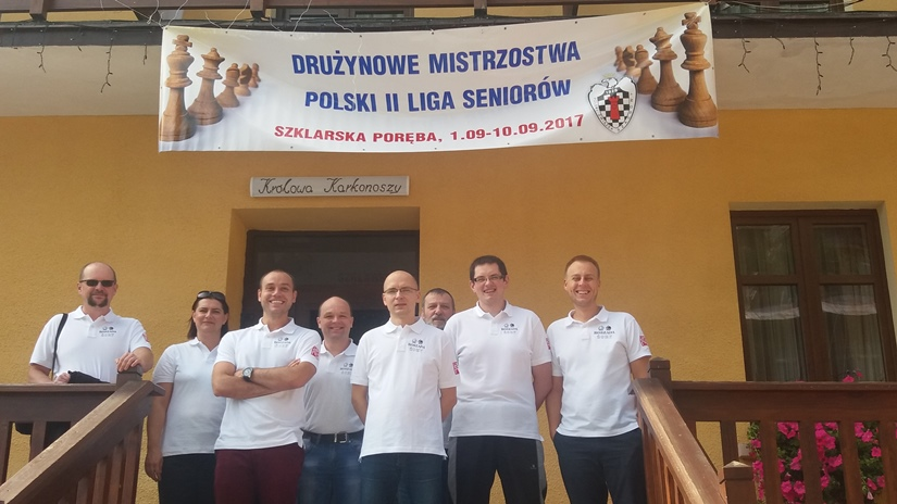 Roszada Żory pozostaje w szachowej drugiej lidze!