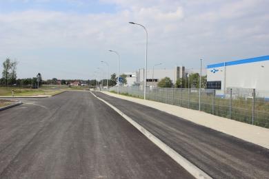 Droga do KSSE S.A. w Osinach już gotowa