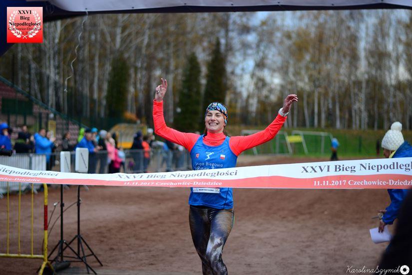 Zwycięska passa biegaczki z Żor!