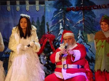 Dzieci spotkały się z Mikołajem!