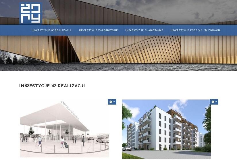 Skorzystaj z nowej strony i poznaj miejskie inwestycje!