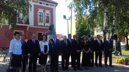 Miejska delegacja z wizytą w węgierskim mieście partnerskim