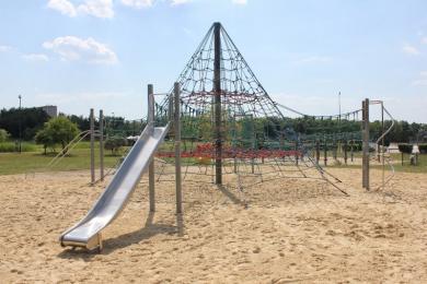 Park Linowy w Cegielni już bezpieczniejszy