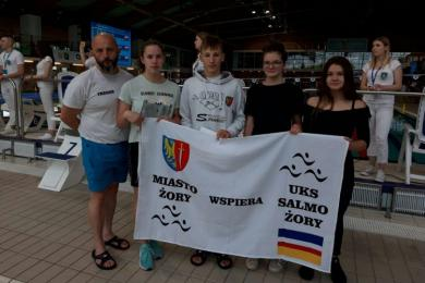 Młodzi żorscy pływacy z sukcesami!