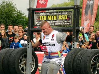 Strongmani w Żorach pokazali siłę!