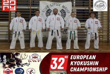 Nasi karatecy na Mistrzostwach Europy! Czy zdobędą medale?