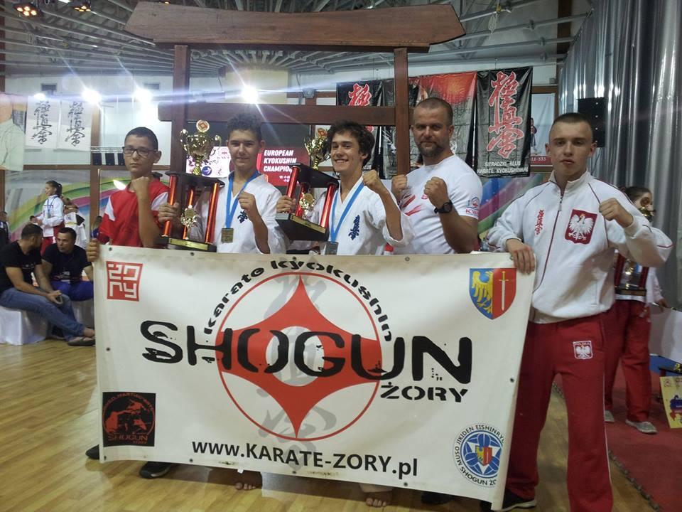 Nasi karatecy z medalami Mistrzostw Europy