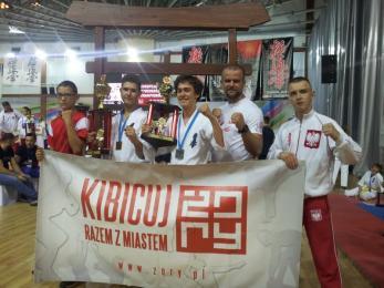 Żorscy karatecy z medalami Mistrzostw Europy!