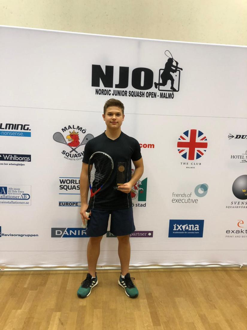 Żorzanin zwycięzcą prestiżowego turnieju squasha!