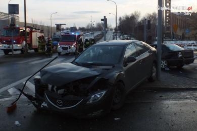 Poważny wypadek w Żorach. Mężczyznę transportował śmigłowiec LPR
