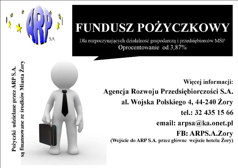 Fundusz pożyczkowy dla przedsiębiorców i na rozpoczęcie działalności gospodarczej