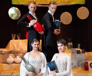 Kolejny sukces żorskich tancerzy. Wygrali na ogólnopolskim turnieju tańca towarzyskiego!