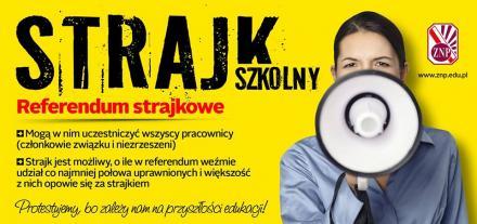 Nauczyciele z Żor 8 kwietnia zaczynają strajk