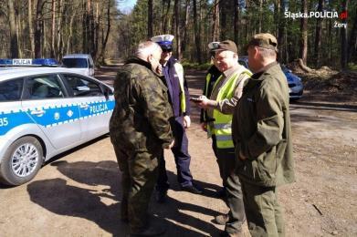 CROSS 2019 - Wspólna akcja policji i straży leśnej