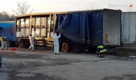 Rozpoczął się wywóz odpadów chemicznych, nielegalnie składowanych w Żorach