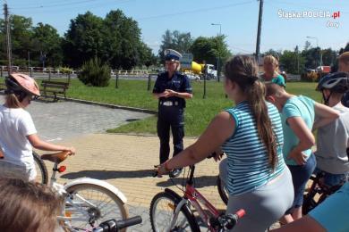 Żorska młodzież zdawała egzamin na kartę rowerową