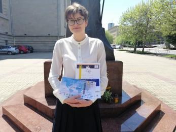 Uczennica Miarki wygrała konkurs papieski