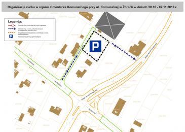 Żory: Organizacja ruchu w obrębie cmentarzy w dniach 31.10-2.11