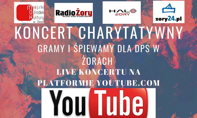 Charytatywny koncert dla Miejskiego Domu Pomocy Społecznej w Żorach