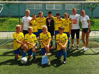 Młodzi piłkarze z SP 13 zostali Mistrzami Śląska!
