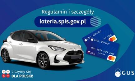 Zgłoś swój udział w Loterii Narodowego Spisu Powszechnego! Masz czas do 7 lipca