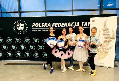 Tancerki Movimento Team Żory zdobyły mistrzostwo kraju!