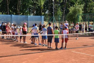 Następcy Świątek i Hurkacza rywalizowali w turnieju tenisa ziemnego dla dzieci i młodzieży