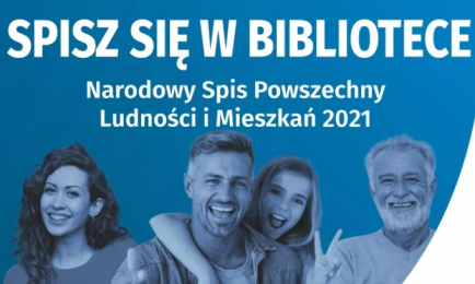 Odwiedź żorską bibliotekę w sierpniu i weź udział w spisie powszechnym