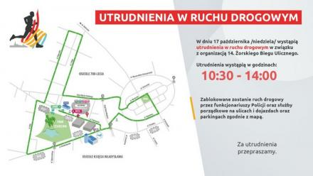 W najbliższą niedzielę XIV Żorski Bieg Uliczny! Będą utrudnienia w ruchu drogowym