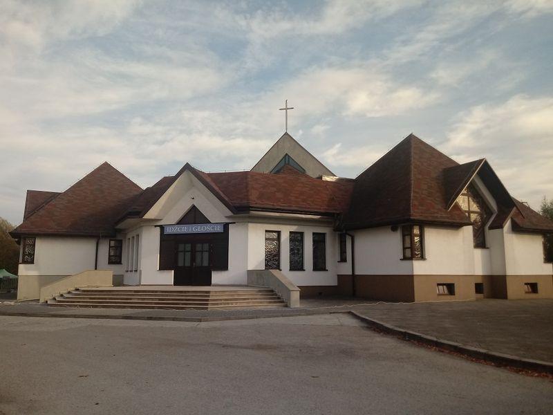Żory - Kościół pw. Miłosierdzia Bożego