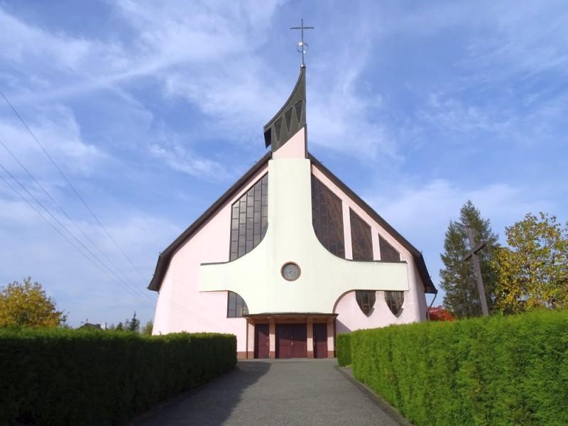 Kleszczów - Kościół pw. Matki Bożej Częstochowskiej